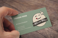 Business Card - Mimma Frozen Food