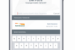 Mobile Banking App - Search